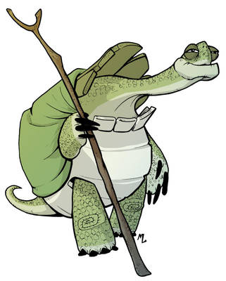 Master Oogway by mad-arts