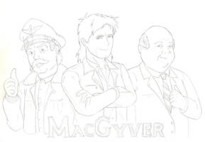 MacGyver: The Animated Series by HoratioGiovanni