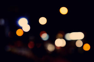 Street Light Bokeh by AbsurdWordPreferred