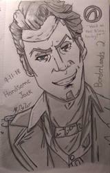 Handsome Jack by KGWebb