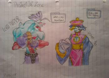 Lord Raptor and Hsien-ko by KGWebb