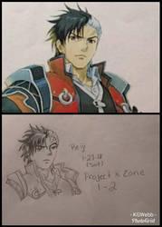 Reiji drawing by KGWebb