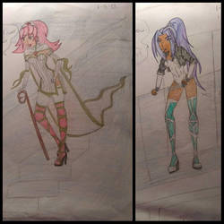 fantasy anime by KGWebb