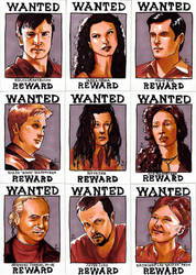 Firefly Sketch Cards by febbik