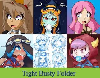 Tight Busty Folder by Raya100