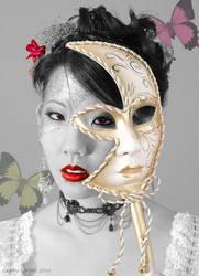 Mask by insanedoodler