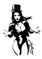 Zatanna Sketch by JulianPetrov