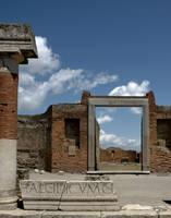 Pompeii door by zazoon