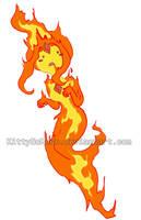AT: Flame Princess by KittyNoMore