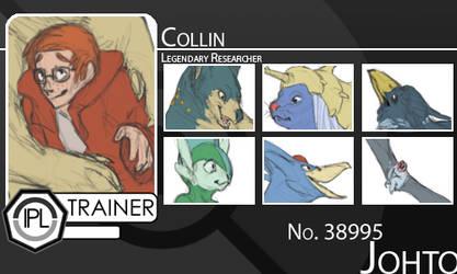 Ipl Trainer Card: Collin by Tashphlosion