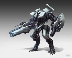 Mech Concept by rawwad