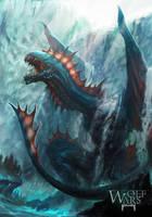 Water Dragon by rawwad