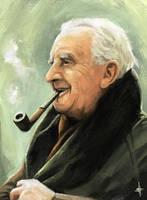J.R.R. Tolkien by blaakk