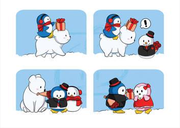 A Penguin Valentine by BBShadowCat