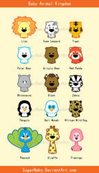 Baby Animal Kingdom by BBShadowCat