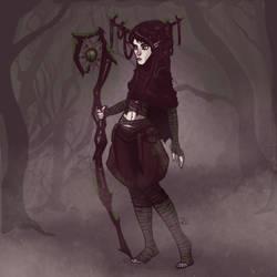 Som - my Druid (OC)  by Animcatic