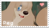 Peg - stamp by V1KA