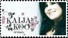Kaija Koo - stamp by V1KA