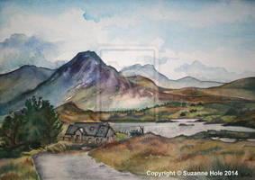 View from Derryinver on the Connemara loop by SuzanneHole