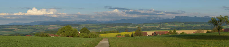 View on the Bernese Alps by R-E-F