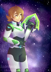 Paladin Pidge [Voltron Legendary Defender] by Andrstante