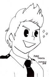 Inktober 10: Mirio Togata by DivaXenia