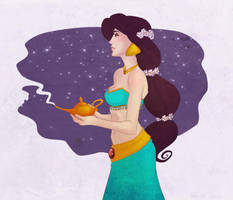 Princess Jasmine by RoroZoro