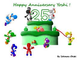 25 years of Awesomeness ! by Ishimaru-Chiaki