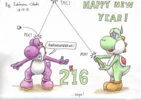 Happy New Year ! ...oops ! by Ishimaru-Chiaki