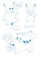 [Sketch set]Pikadoodle ! by Ishimaru-Chiaki