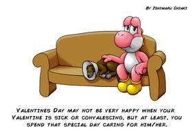 Convalescing valentine by Ishimaru-Chiaki