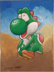 [Acrylic] Yoshi and Egg by Ishimaru-Chiaki