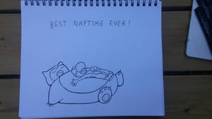 [Doodle]Triple Nap by Ishimaru-Chiaki