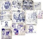 planner doodles IV by TheGreyNinja