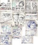 planner doodles V by TheGreyNinja
