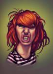 Orange girl II D by TheGreyNinja