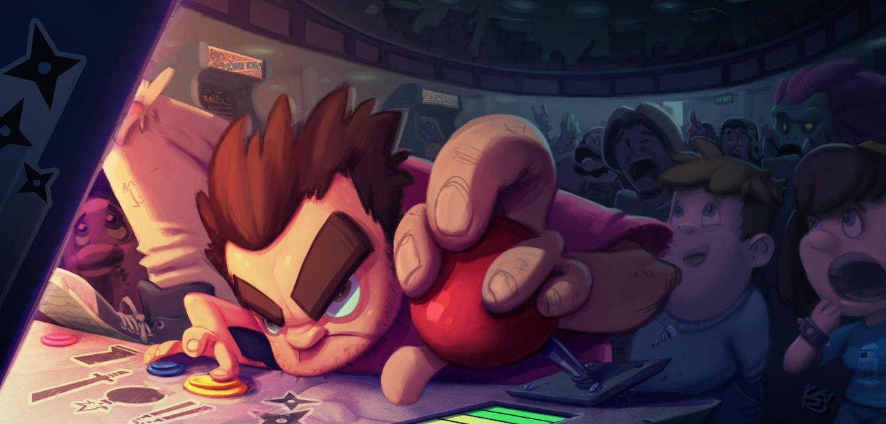 arcade legend by TheGreyNinja