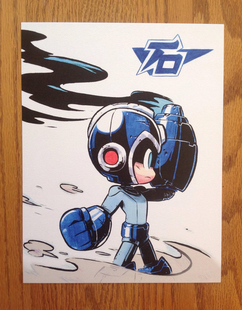 Mega Man by TheGreyNinja