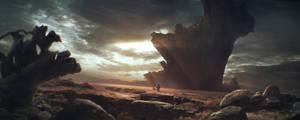 Alien landscape by JordiGart