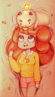 bee and puppycat by EvilSyrnik