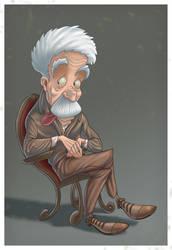 Einstein colored by NickNP