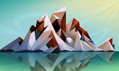 Icy Peaks by NickNP