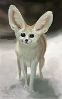 Little Fennec by Ankyloce