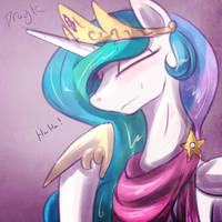 Happy sun princess by Dragk