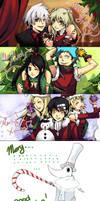 Soul Eater Christmas by Miyukiko