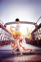 Monogatari - Shinobu by Miyukiko