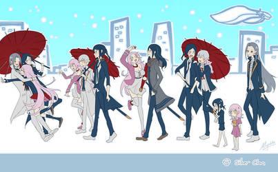 K Project - Hakumaitou Silver Clan timeline by Miyukiko