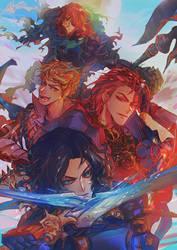 GBF - Dragon Knights by Miyukiko