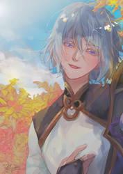 FGO - Prince of Lan Ling by Miyukiko