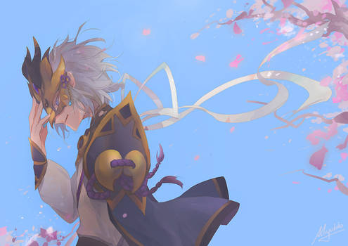 FGO - Mask by Miyukiko